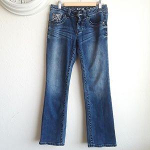 Apt 9. Baby boot leg jeans 2p